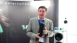 Waterfall Audio showcases Hurricane Evolution loudspeakers (ISE 2009)