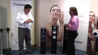 Cabasse Jersey and Java Speaker Range With Their SCS Technology (Top Audio Video Show Milano 2010)