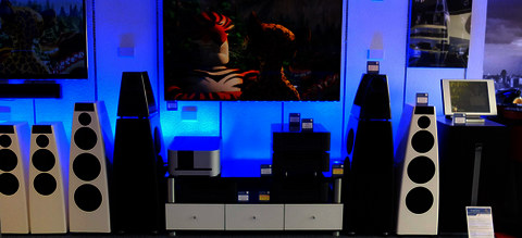 Meridian Audio products at Martins Hi-fi